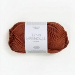 Sandnes Tynn Merinoull 3345 Rost