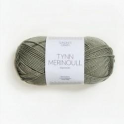 Sandnes Tynn Merinoull 8521 gedecktes Hellgrün