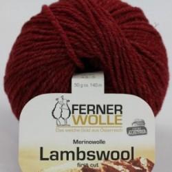 Ferner Lambswool LW1017 dunkelrot