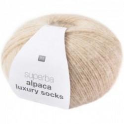 Rico Alpaca Luxury Socks 001 beige