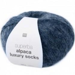Rico Alpaca Luxury Socks 003 blau