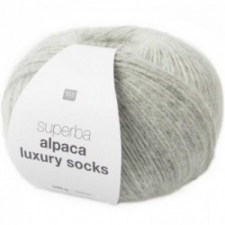 Rico Alpaca Luxury Socks 004 silbergrau
