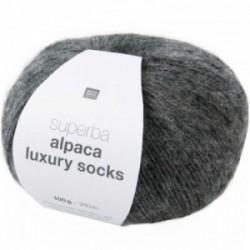Rico Alpaca Luxury Socks 005 grau