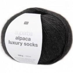 Rico Alpaca Luxury Socks 006 schwarz