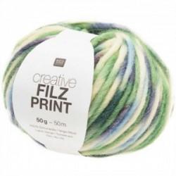 Rico Creative Filz Print 004 grün