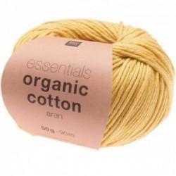 Rico essentials Organic Cotton aran 003 Gelb
