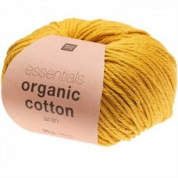 Rico essentials Organic Cotton aran 004 Senf