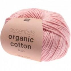 Rico essentials Organic Cotton aran 006 Rosa