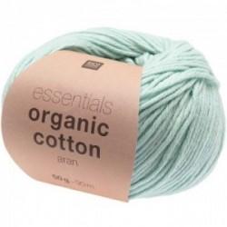 Rico essentials Organic Cotton aran 011 Mint