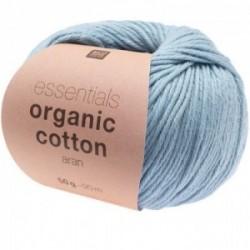 Rico essentials Organic Cotton aran 012 Blau