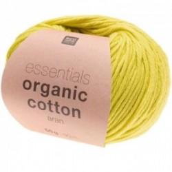 Rico essentials Organic Cotton aran 015 Pistazie