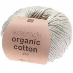 Rico essentials Organic Cotton aran 018 Silber