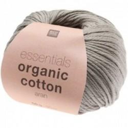 Rico essentials Organic Cotton aran 019 Grau