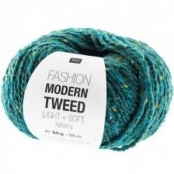 Rico Modern Tweed 008 Petrol