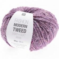 Rico Modern Tweed 012 Flieder