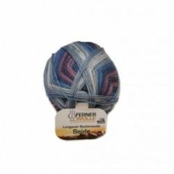 Ferner Lungauer Sockenwolle Seide - 416X20 blau-lila