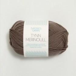 Sandnes Tynn Merinoull 3161 mittelbraun