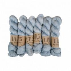 LITLG Moon Sock Blue Dusk