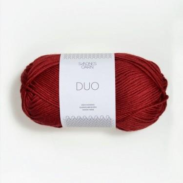 Sandnes Duo 4236 dunkelrot