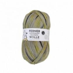 Ferner Lungauer Sockenwolle 6fach - 470/21 grau/grün