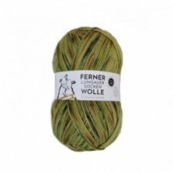 Ferner Lungauer Sockenwolle 6fach - 473/21 grün