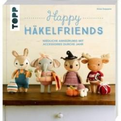 Happy Häkelfriends - Niedliche Amigurumis mit Accessoires durchs Jahr - Anna Suppanz