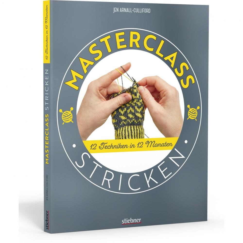 Masterclass Stricken - 12 Techniken in 12 Monaten - Jen Arnall-Culliford