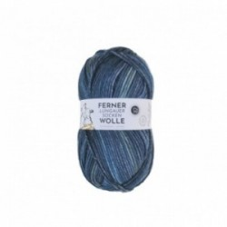 Ferner Lungauer Sockenwolle 8fach - 491/21 dunkelblau