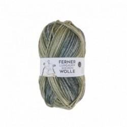 Ferner Lungauer Sockenwolle 8fach - 492/21 grün