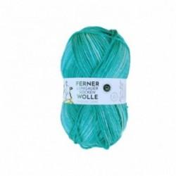 Ferner Lungauer Sockenwolle 8fach - 493/21 türkis