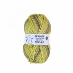 Ferner Lungauer Sockenwolle 8fach - 487/21 gelb-grün