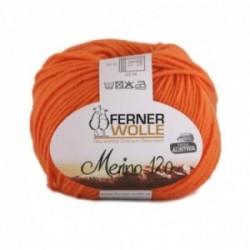Ferner Merino 120 - 406 orange