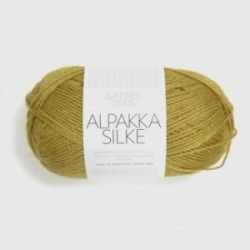 Sandnes Alpakka Silke 2024 senfgelb