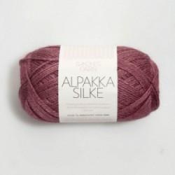 Sandnes Alpakka Silke 4244 dunkelaltrosa