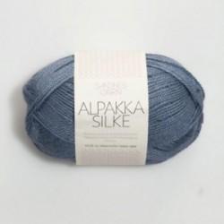 Sandnes Alpakka Silke 6052 rauchblau
