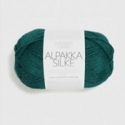 Sandnes Alpakka Silke 6765 flaschengrün