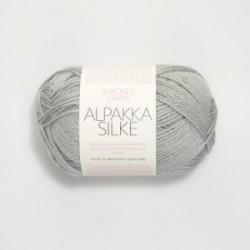 Sandnes Alpakka Silke 7521 babyblau
