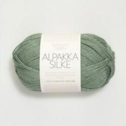 Sandnes Alpakka Silke 7741 lindgrün