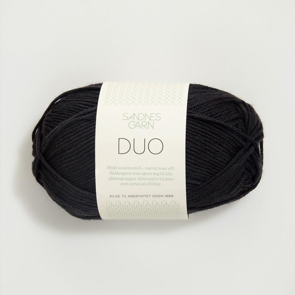Sandnes Duo 1099 schwarz