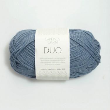 Sandnes Duo 6033 rauchblau