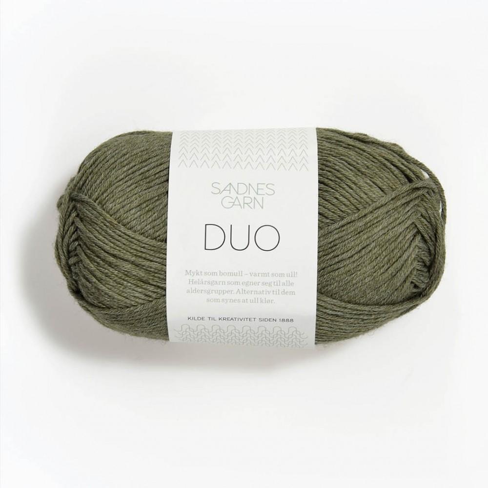 Sandnes Duo 9551 grün