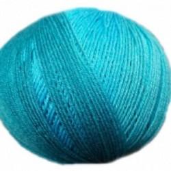 Ferner Lungauer Sockenwolle Seide - 333X20 türkis