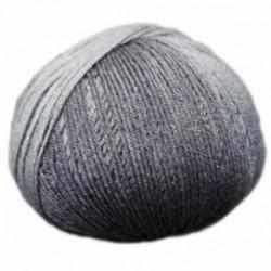 Ferner Lungauer Sockenwolle Seide - 334X20 grau