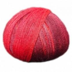 Ferner Lungauer Sockenwolle Seide - 335X20 rot