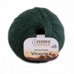 Ferner Sockenwolle Vitamin E - 326/20 tannengrün