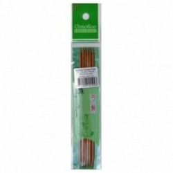 ChiaoGoo Premium Bamboo 3.0 mm (15 cm) Nadelspiel