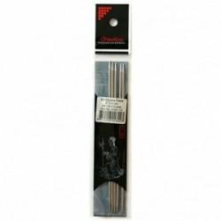 ChiaoGoo Premium Stainless Steel 2.5 mm (15 cm) Nadelspiel