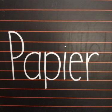 Maschenwerkstatt - Papier